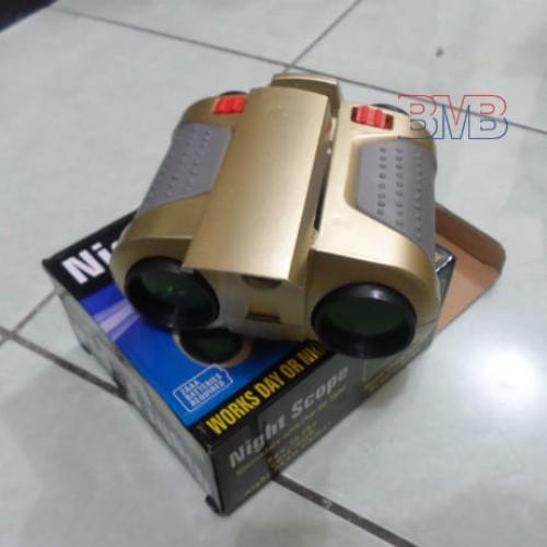Foto Produk Teropong Night Scope 4 x 30mm Binoculars Pop-Up Light dari belimasbro(dot)com