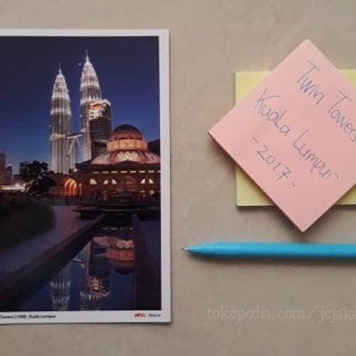 Foto Produk Kartu Pos Petronas Twin Towers Kuala Lumpur - Malaysia (Murah!!) dari Jejak Dolan