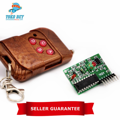 Foto Produk IC 2262 / 2272 Module: 315MHZ 4 Channel Wireless RF Remote Control  dari TOKO BEY