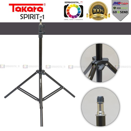 Foto Produk Light Stand TAKARA SPIRIT 1 tripod studio lightstand dari serbadigital-id