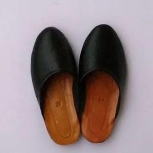 Foto Produk sandal selop dewasa perlengkapan untuk baju adat jawa  - Hitam, 36 dari bagusbabyfashion