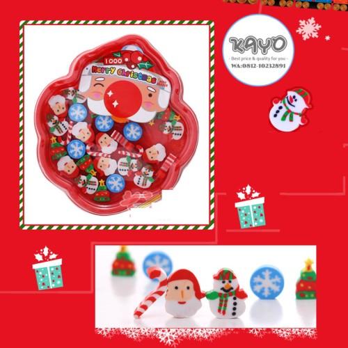 Foto Produk hadiah natal, penghapus lucu, penghapus santa, hadiah x'mas, alat tuli dari KAYO