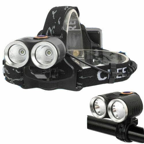 Foto Produk Senter kepala / senter sepeda / Headlamp R2 LED CREE XPE T6 800 Lumens dari om-jak