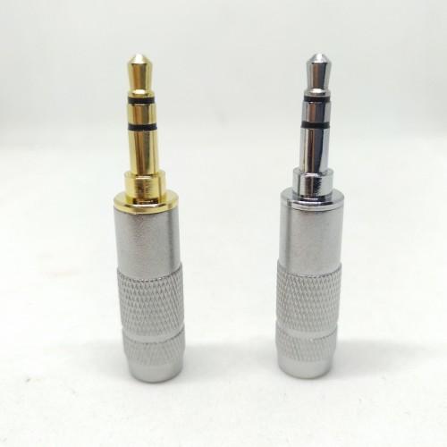 Foto Produk DIY Jack 3.5mm Replacement Audio Plug -Oyaide I Shape - Rhodium Plated dari Onebest Choice