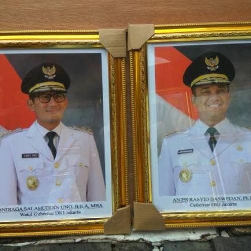 Jual Gubernur Dki Jakarta Periode 2017 2022 Jakarta Pusat Mandiri Frame Tokopedia