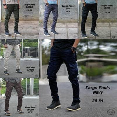 Foto Produk Celana Cargo / Celana Panjang Pria / Celana PDL dari P0seid0n