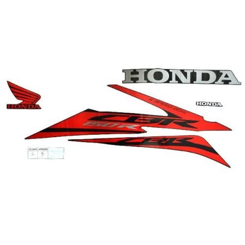 Foto Produk Sticker Body Kanan Black Red New CBR 150R 871X0K45N70ZAR dari Honda Cengkareng