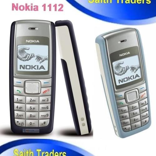 Foto Produk HANDPHONE NOKIA 1112 / HP NOKIA 1112 / TYPE N1112 NOKIA JADUL dari Faza Gadget