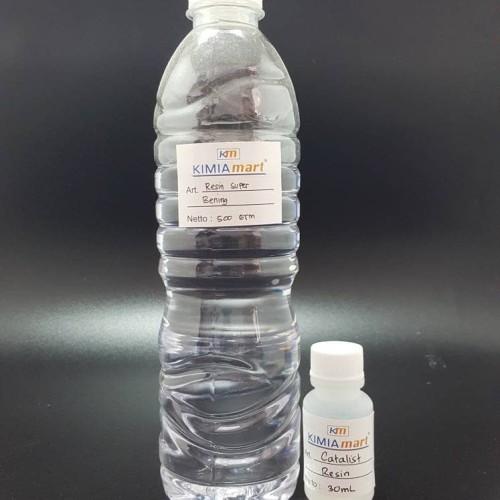 Foto Produk Resin Super Bening + Catalist dari Kimia Mart