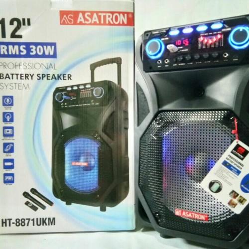 Foto Produk speaker meeting bluetooth portable Asatron HT 8871 UKM+2 mic wireless dari AP accesories