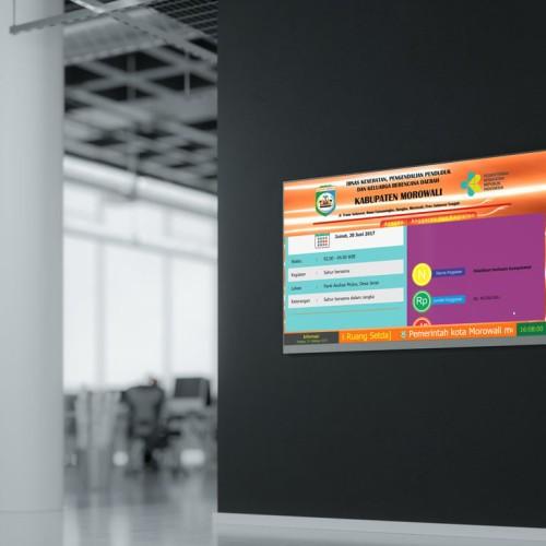 Foto Produk Software Display Informasi Agenda dan Running Text untuk Kantor dari Jual bibit murah