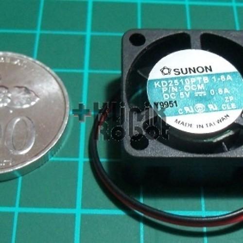 Foto Produk KR20071 2.5cm x 2.5cm Cooling Fan 5Volt DC 0.8A [C4] dari KlinikRobot