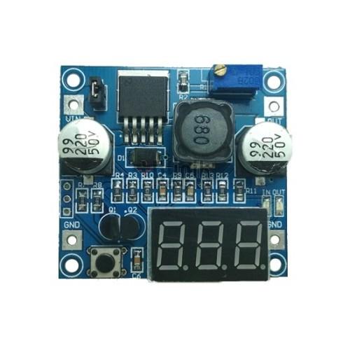 Foto Produk KR20183 LM2596 with Display DC Step Down (4V-35V to 1.23V-30V) dari KlinikRobot