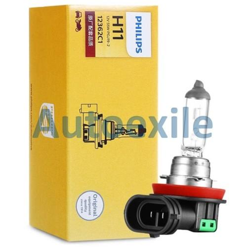 Foto Produk Philips Premium Vision H11 12V 55W Terang OEM - Lampu PremiumVision dari Autoexile