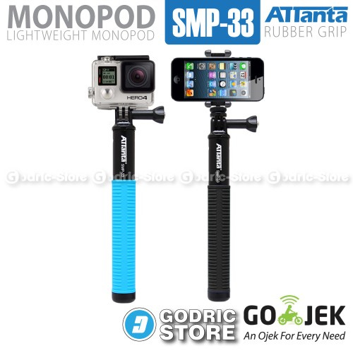 Foto Produk Attanta Tongsis Monopod Titanium SMP-33 for GoPro, Xiaomi Yi & HP - Hitam dari G-Rex