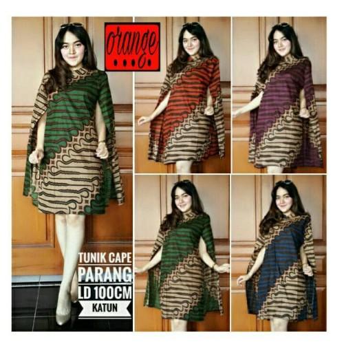 Foto Produk Tunik / Dress Cape Batik Parang dari toko O-range