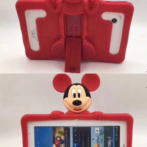 """Foto Produk Universal Tablet 7"""" Inchi MIckey Soft Stand Case Cover Casing Anak dari Forsakey Gadget Acc"""