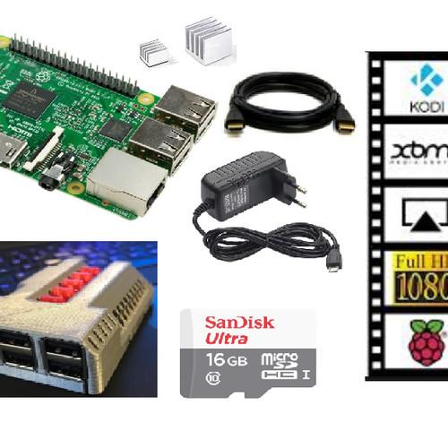 Foto Produk Paket Raspberry Pi 3 Multimedia Edition Siap Pakai dari BIKIN3D
