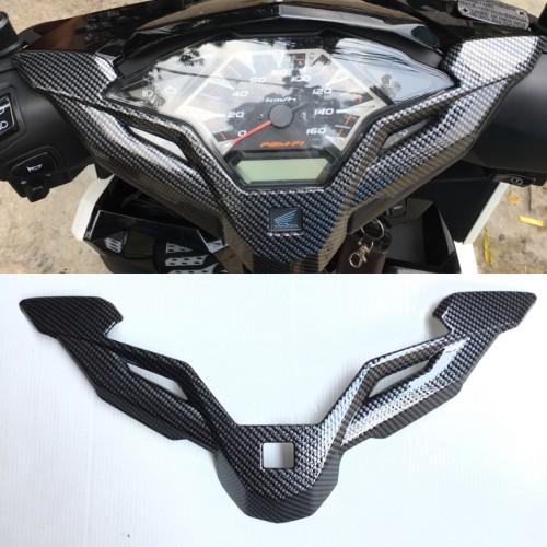 Foto Produk Garnish Cover Spedo Speedometer Vario 150 / 125 New Carbon dari saungmotor