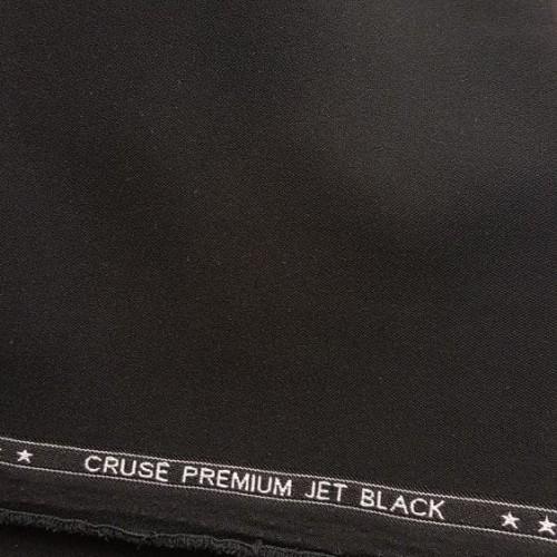 Foto Produk Bahan Kain Formil Casual Super Jetblack Celana Pants Sopan Black Hitam dari FlicKL.Clothing