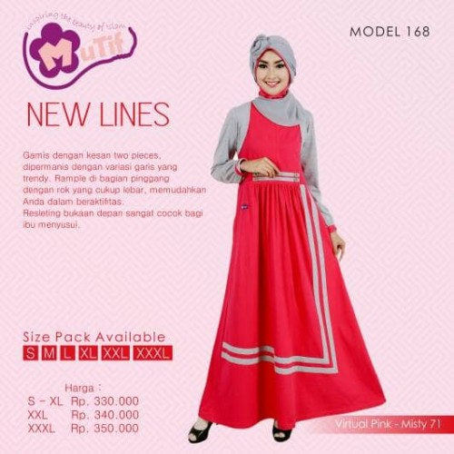 Foto Produk Mutif 168 / Hijab Fashion / Baju Muslim dari Putra Kartini 29