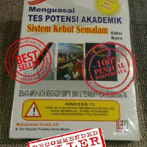 Foto Produk Buku Menguasai TPA sistem kebut semalam dari denny gema media