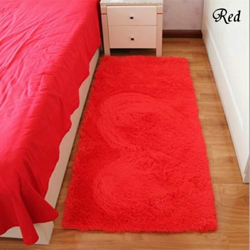 Foto Produk keset bulu 50x100x2cm - Merah dari Luzzy Distibutor Karpet