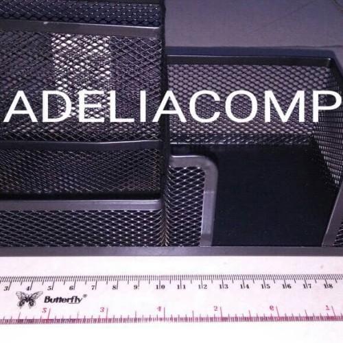 Foto Produk TEMPAT PENSIL RAK BESI V TEC. UK.20CM dari Adeliacomp