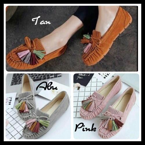 Foto Produk Sepatu Flat Shoes Balet Rawis NJ01 dari Nin's Collections