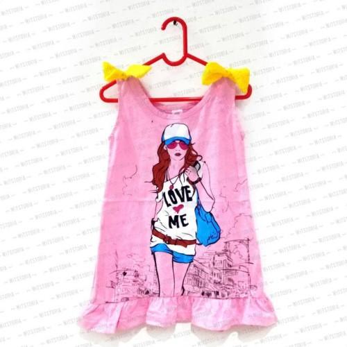 Foto Produk Love Me Fashion Girl Tanktop Anak Perempuan dari Witstoria