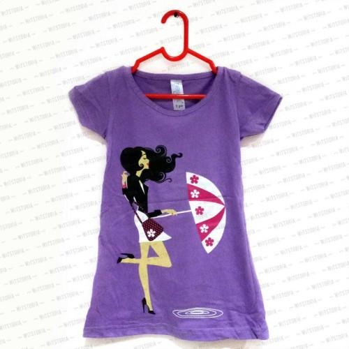 Foto Produk Umbrella Girl Kaos Anak Perempuan dari Witstoria