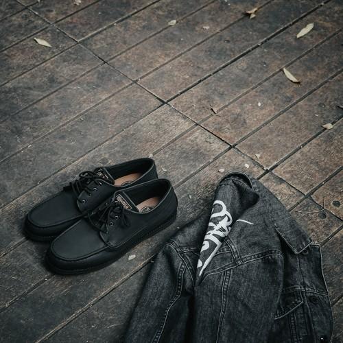 Foto Produk Sepatu Pria Maikor Black JFW dari Bokangco Store