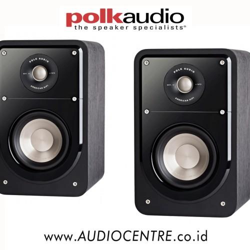 Foto Produk Polk Audio S15 Bookshelf Speaker / audiocentre / black / POLK AUDIO dari Audio Centre Official