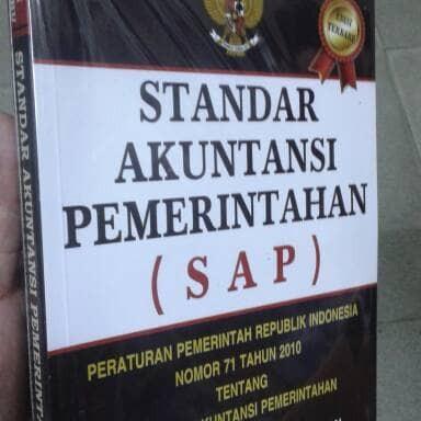 Foto Produk Standar Akuntansi Pemerintahan SAP Edisi Terbaru PP RI No 71 Thn 2010 dari andrebuku