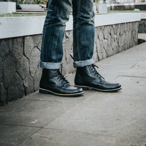 Foto Produk Sepatu Boots Pria JFW Austin dari Bokangco Store