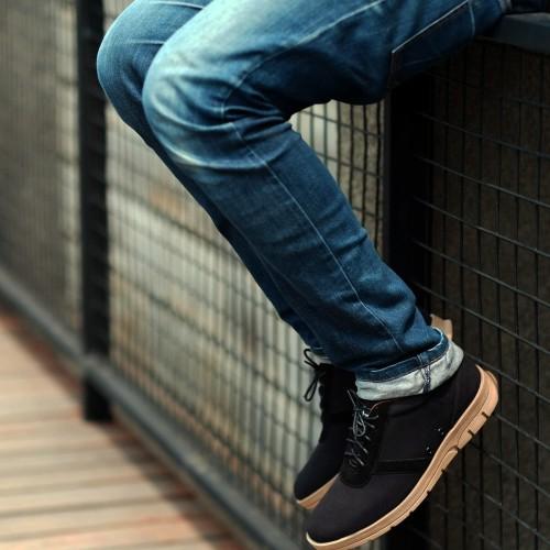 Foto Produk Sepatu Derby pria FTP Astro Black dari Bokangco Store
