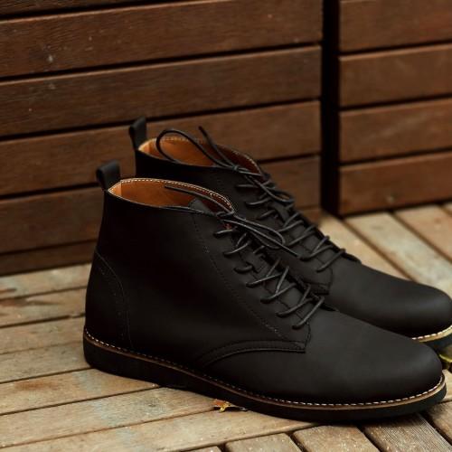 Foto Produk Sepatu Boots Pria Eleanor Black dari Bokangco Store