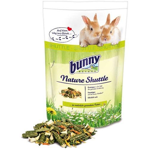 Foto Produk Bunny Nature Shuttle Rabbit Food 600gr Makanan Kelinci - EXP 2021-10-24 dari Hime petshop