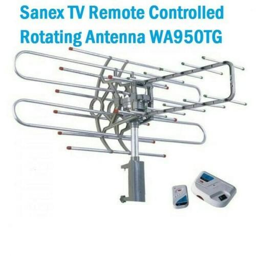 Foto Produk Antena TV digital Outdoor / Luar + Remote + Booster Sanex WA 950 TG dari tk terang jaya elektrik