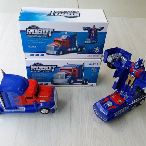 Foto Produk MAINAN MOBIL ROBOT TRANSFORMER SUPER CHANGE TRUCK 2IN1 NO.OTB-206 dari Our Kingdom