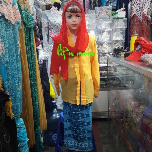 Foto Produk baju adat anak none betawi kecil adat nusantara dari toko mujur dhowie