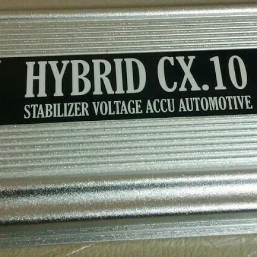 Foto Produk STABILIZER aki mobil HYBRID cx 10 /irit bbm dan bertenaga dari jakartamobilaudio