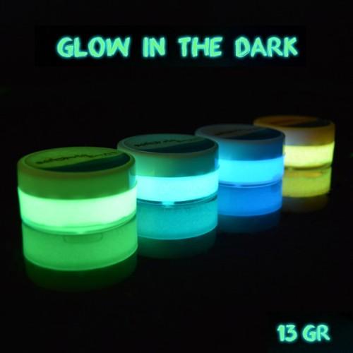Foto Produk Satiniq Luminos Acrylic Glow Paint / Cat Glow in the Dark 13gr - Lemon green dari Lix Art Supplies