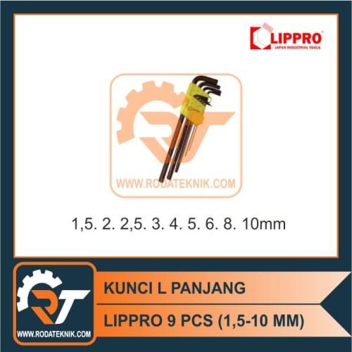 Foto Produk Kunci L Set Lippro dari Roda Teknik