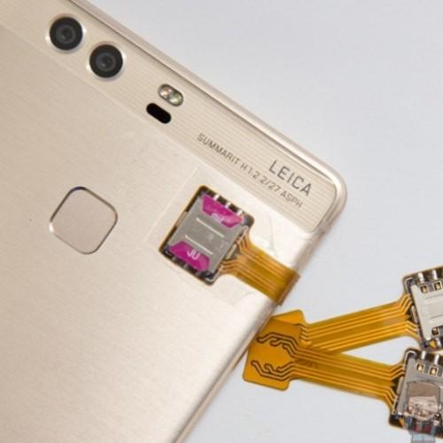 Foto Produk Dual Sim Card Adapter Hybrid Sim Card Extender MicroSD Card Converter - Micro dari lbagstore