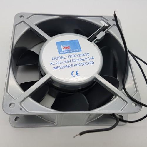 Foto Produk (Dijamin) AVC Cooling Fan AC 220V ukuran 12 x 12 x 3.8 cm / kipas dari budi12