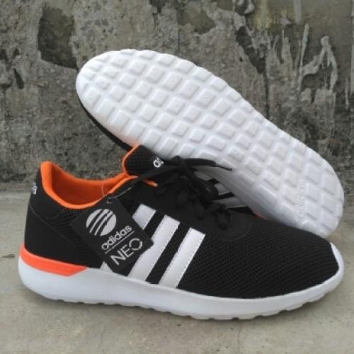 Foto Produk sepatu sneaker Adidas running hitam oren cowo Grade original murah dari Daily Art Wear