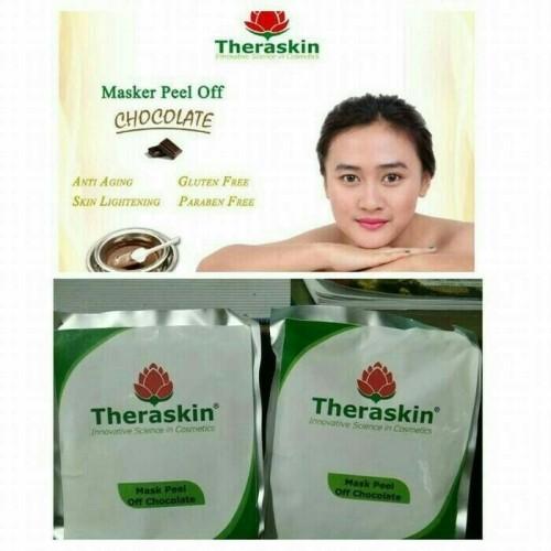 Foto Produk Masker Coklat Theraskin peel off murah dari Nafeesah Beauty