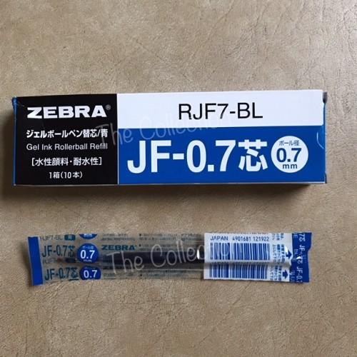 Foto Produk ATK0431SR RJF7-B BLUE 0.7 mm isi pen sarasa refill zebra JF 0,7 Biru dari KC Wholesale