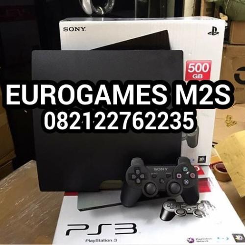 Foto Produk PS3 slim 500gb CFW terbaru 4.82 void sony dari eurogame